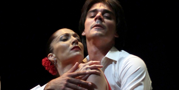 Carmen de la Compañía Antonio Gades en los Teatros del Canal