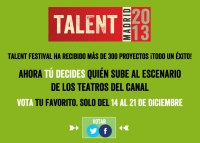 votar festival talent madrid
